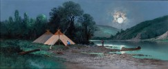 Indian Encampment by C. A. Reiner