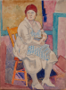 Portrait of Mrs. Sommer by William Sommer