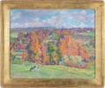 Hillside Landscape by Abel G. Warshawsky