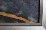 Landscape Oil on Board:
