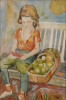 Green Apples, 1943 - SOLD by William Sommer